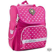 Рюкзак каркасный для девочки 1 Вересня H-11 Oxford rose 553259