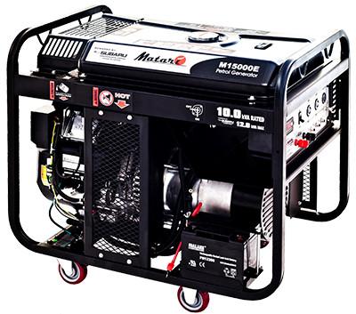 Однофазный бензиновый генератор MATARI M15000E (12 кВт)