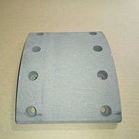Накладка тормозная МАЗ сверл. 160 мм (пр-во Трибо) 5336-3501105