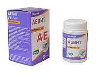Эвалар АЕВИТ витамины А+Е, 30 капсул