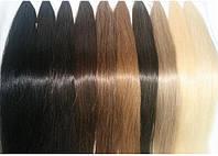 Натуральные славянские волосы на трессе длиной 60 см