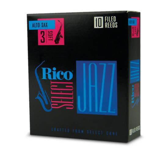 Трости для духовых RICO Rico Select Jazz - Alto Sax Filed 2H - 10 Box