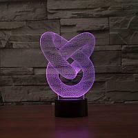 3D лампа/светильник, ночник