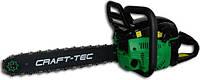 Бензопила Craft-tec CT-5000 (2 шины 2 цепи)