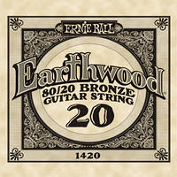 Струна гитарная Ernie Ball Earthwood .022