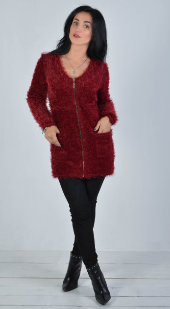 c32d3cba9e4d81 Теплая женская кофта на молнии: продажа, цена в Хмельницком. свитеры ...