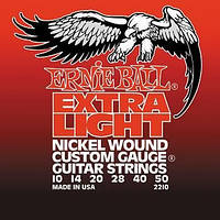 Струны для электрогитары ERNIE BALL Extra Light P02210 10-50