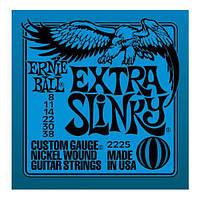 Струны для электрогитары ERNIE BALL Extra P02225 Slinky 8-38