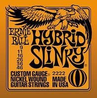 Струны для электрогитары ERNIE BALL P02222 Slinky 9-46