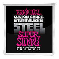 Струны для электрогитары ERNIE BALL Slinky 9-42