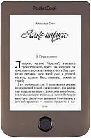 """Электронная книга PocketBook 615(2) Basic Plus Dark Brown (PB615-2-X-CIS); 6"""" (1024 х 758) E Ink Pearl, с подсветкой"""