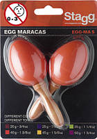 Маракасы STAGG EGG-MA S OR
