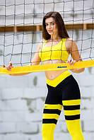 Спортивный топ «Yellow» 46-48
