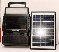 Переносной  TV FM приемник GD-8086 на солнечной батарее