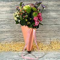 Конус картонный для цветов (с двусторонней ламинацией) 21365-8