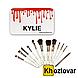 Профессиональный набор кистей для макияжа Kylie Professional Brush Set 12 шт, фото 4