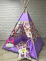 Вигвам детская игровая палатка «Мир Совушек»