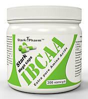 BCAA - Лейцин, Изолейцин, Валин Stark Pharm IBCAA 8-1-1 650 mg 300 caps