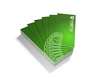 A4 dl, 105х297мм (Мелованная бумага 90 гр/м.кв) (Тираж  : 1 000 шт; )