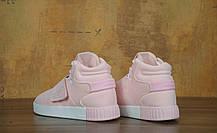 Кроссовки Adidas Tubular Invader Strap Pink розовые топ реплика, фото 3