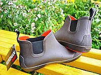 Мужские ботинки NORDMAN BEAT ПС-30 коричневый с оранжевой подошвой