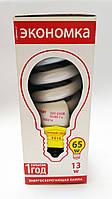 Энергосберегающие лампы Экономка т3 13вт Е14, 2700 К