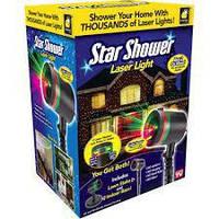 """Уличный проектор для """"звездного"""" украшения дома  Star Shower Laser Light"""