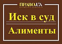 Позовна заява про стягнення аліментів Полтава