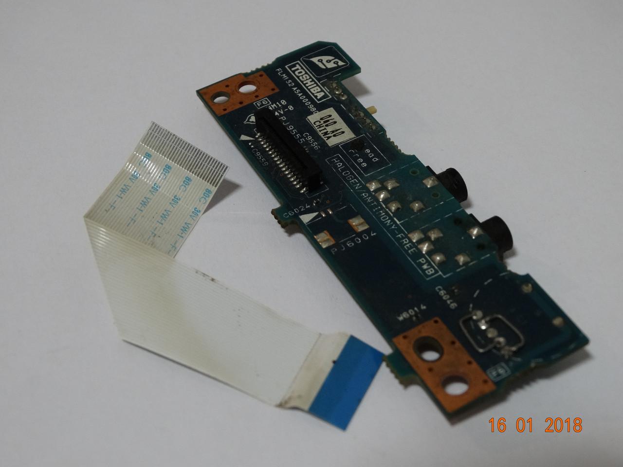 Аудио плата для ноутбука TOSHIBA SA40-261 / FLM1-S2-A5A000980