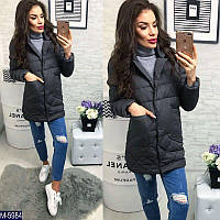 Модная молодежная стеганая куртка на пуговицах новинка 2018 Фабрика Моды 42,44,46
