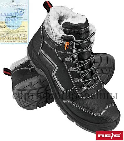 Ботинки утепленные мехом рабочие REIS Польша (спецобвь зимняя) BRYETI