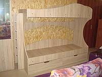 """Двухъярусная кровать для детей """"Бриз"""""""
