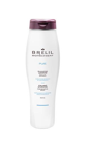 Brelil Pure Шампунь очищающий деликатный для чувствительной кожи головы, 250 мл