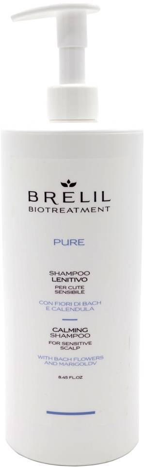 Brelil Pure Шампунь очищающий деликатный для чувствительной кожи головы, 1000 мл