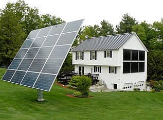 Двухосный солнечный трекер Sunway-20/K (на 20 панелей)