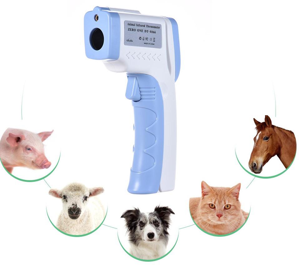 Термометр ветеринарный, бесконтактный Thermoscan DT-8866 для животных (32.0-45.0℃), предметов (0 +100℃)