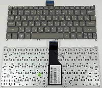 Клавиатура Acer Aspire v5-121 V5-131V5-171 Серая