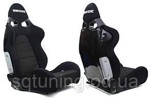 Спортивное сиденье CUGA BRIDE (Черное, Ткань)