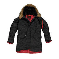 Куртка мужская Аляска слим Черный  М (48-50)