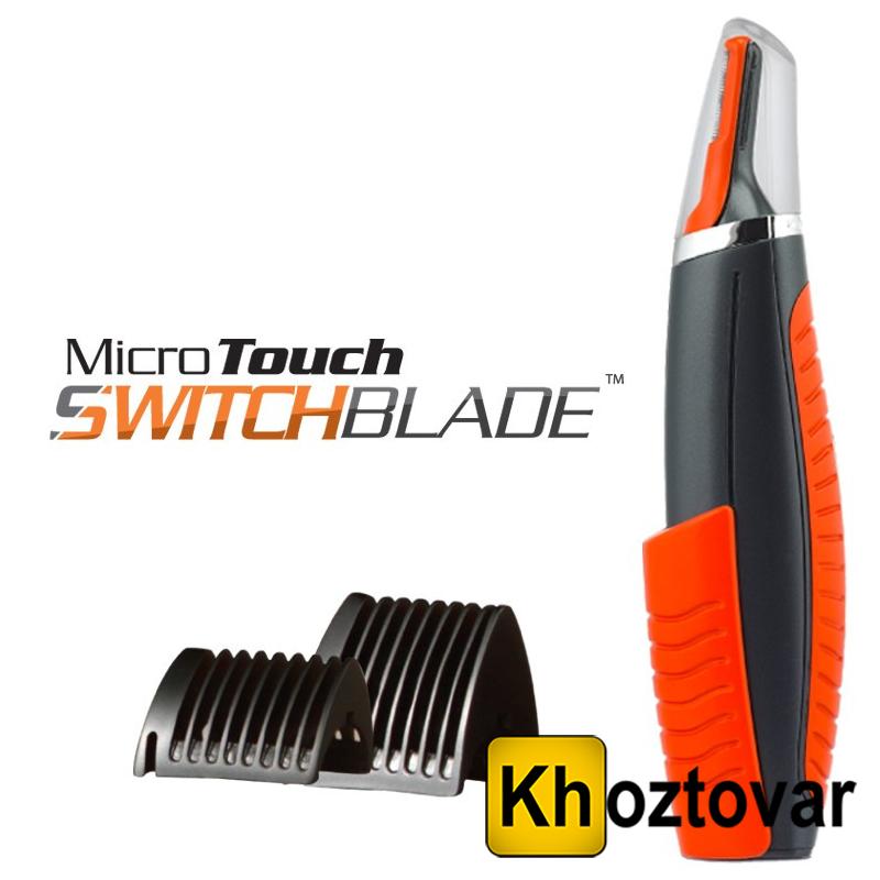 Універсальний тример для носа, вух та коригування стрижки MicroTouch Blade Switch