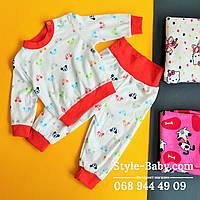 Детская пижама для девочки  материал интерлок для  девочки р20,.22,24,26