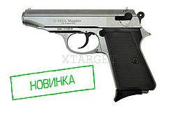 Пистолет стартовый EKOL MAJAROV серый, 9мм (7+1патр)