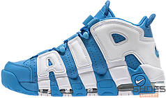 Женские кроссовки Nike Air More Uptempo University Blue/White