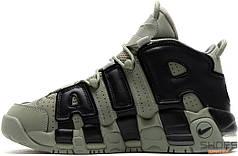 Женские кроссовки Nike Air More Uptempo Green/Black