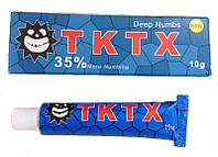 Крем анестетик TKTX 35% (Blue)10 гр. Лидокаин 5%, Прилокаин 5%, Эпинефрин 1%