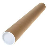 Тубус Leniar картонный 75 см х 6 см 50043