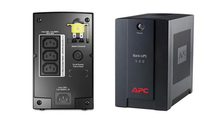 "APC Back-UPS 500VA IEC (BX500CI) ""Over-Stock"" Б/У"