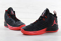 Мужские кроссовки Nike Air Jordan Super Fly Red/Black, фото 3