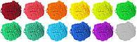 Краска Холи (Гулал), Фарба Холі, набір 12 найпопулярніших кольорів пакети 100 грам, фото 1