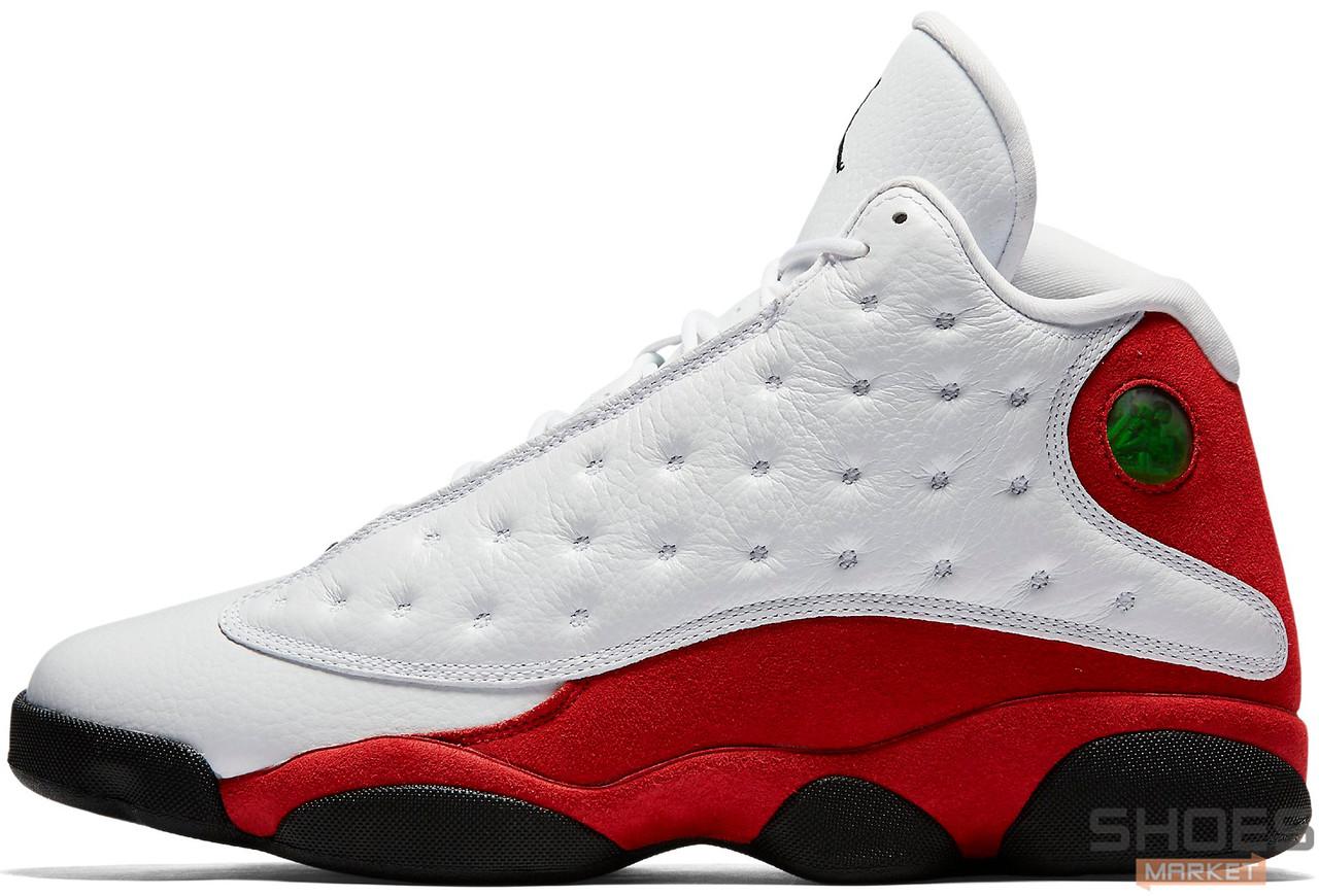 Мужские кроссовки Nike Air Jordan 13 Retro Black/White/Red